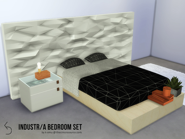 Industr/a Bedroom Set by k-omu