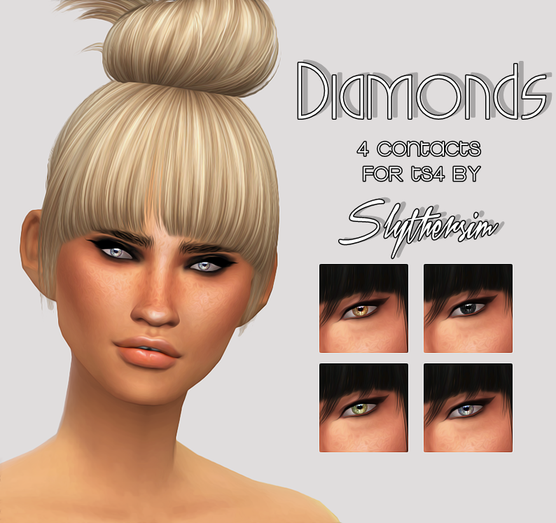 Diamonds Eyes by SlytherSim