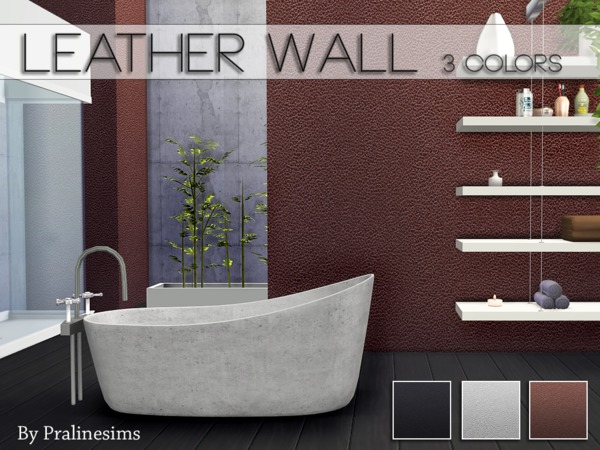 Leather Wall by Pralinesims