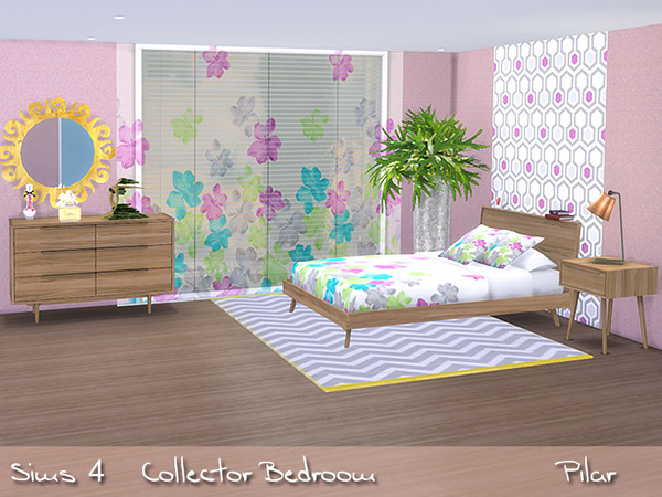 Collector Bedroom by Pilar