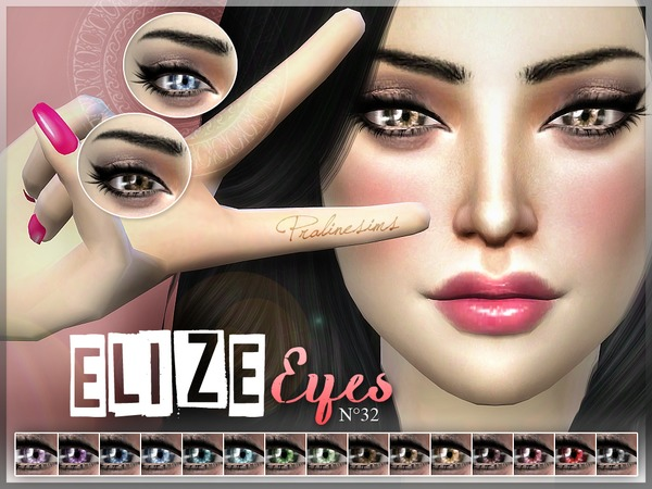 Elize Eyes  N32 by Pralinesims