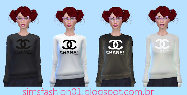 Chanel Sweater by Sims Fashion01
