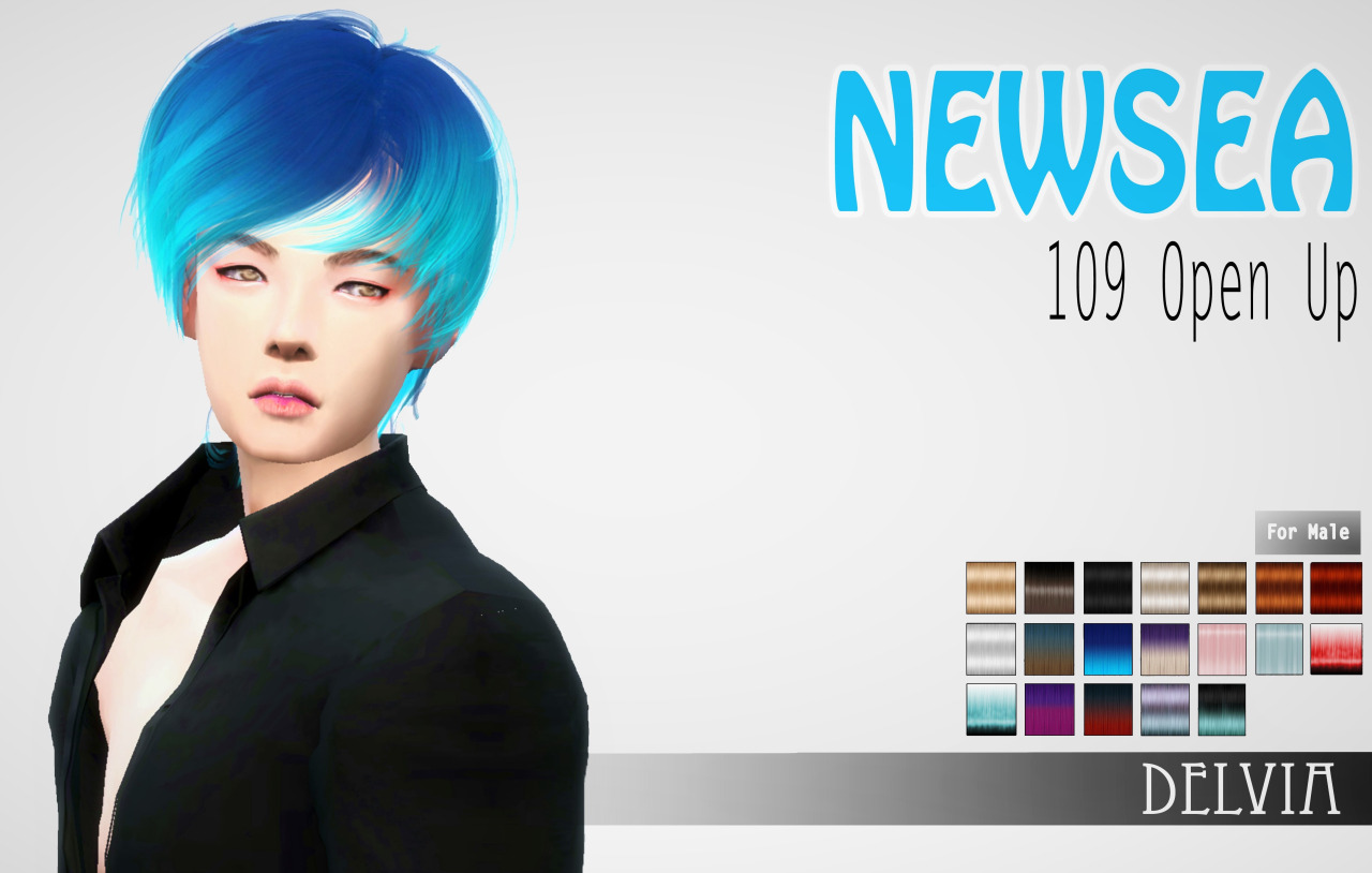 NewSea 109 Open Up converted for The Sims 4 by Delvia