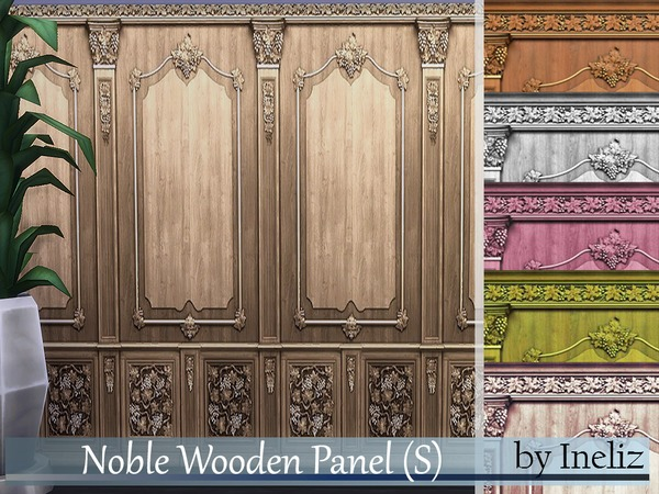 Noble Wooden Panel (S) by Ineliz