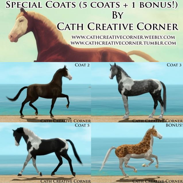 SPECIAL COATS by Cath Creative Corner
