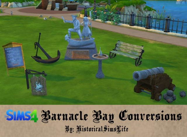 TS3 Barnacle Bay Conversions by HistoricalSimsLife