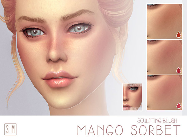 [ Mango Sorbet ] - Ruddy Blush by Screaming Mustard