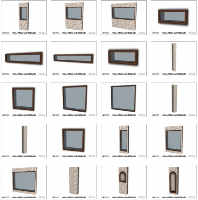 Hillview Windows with slots by mutske