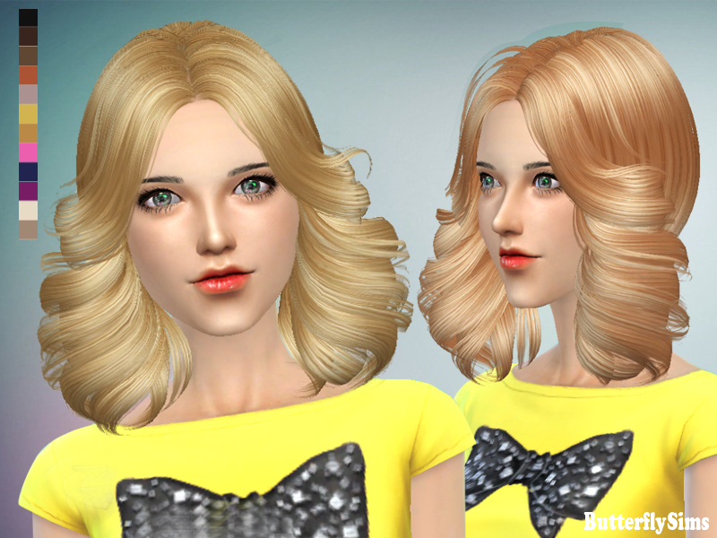 ButterflySims 089 Hair for Females