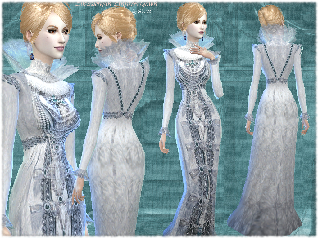 Empress Gown by MythicalDreamsSims4