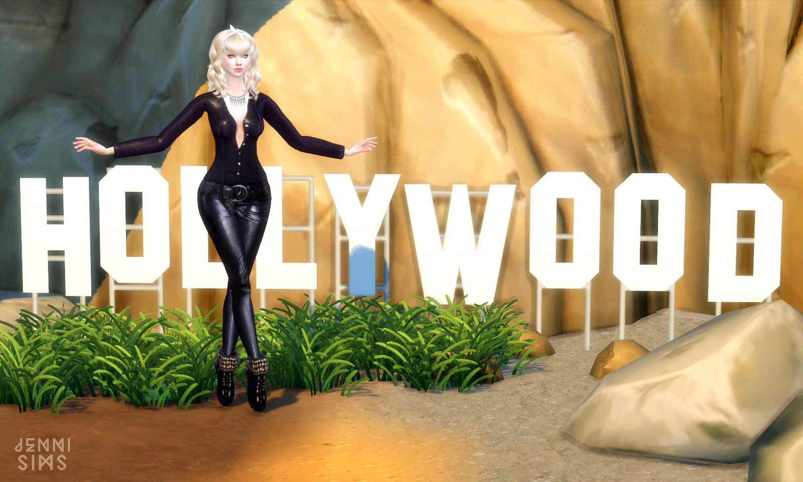 Hollywood Movie Sets Decor by JenniSims