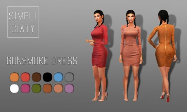 Gunsmoke Dress by Simpliciaty