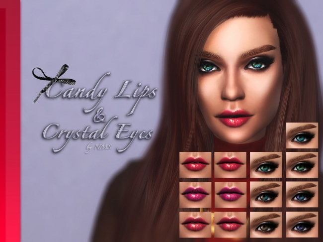 Candy Lips & Crystal Eyes by NastenaMS
