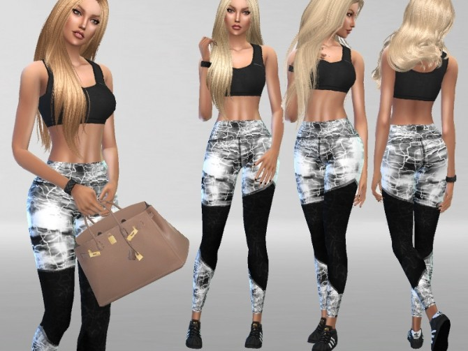 ATHLETIC OUTFIT By  PURESIM