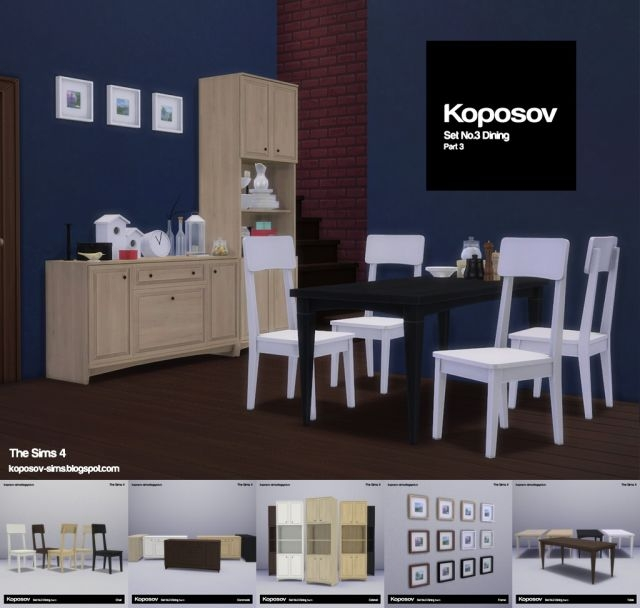 Dining Set No. 3 by Koposov