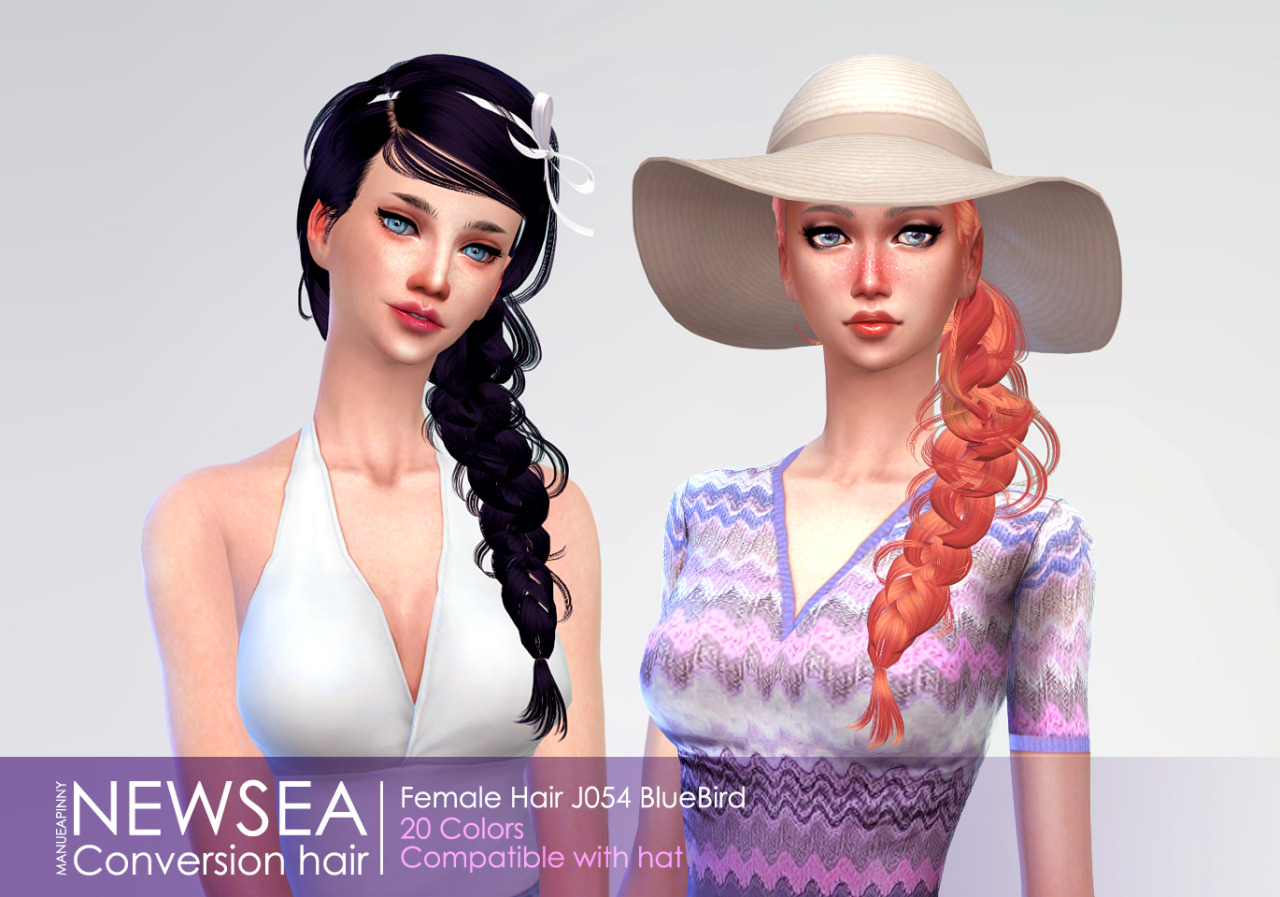 Newsea Hair Conversion for Females by Manueapinny