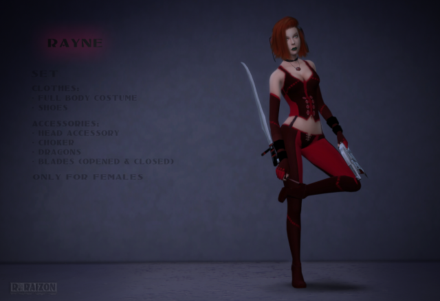 Bloodrayne by Raizon