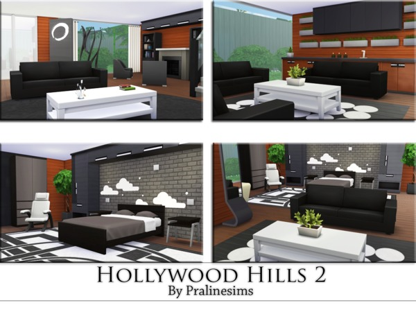Hollywood Hills 2 by Pralinesims