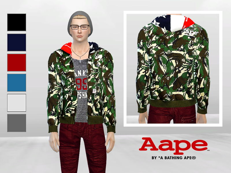 Toy Soldier Camo Jacket  BY McLayneSims