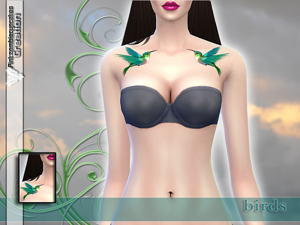 Butterfly Kiss Tattoo Pack by Pinkzombiecupcakes