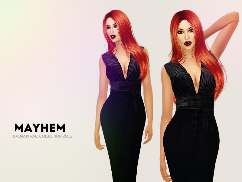 Balmain Jumpsuit BY NataliMayhem