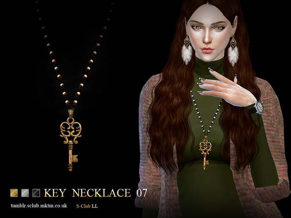 S-Club LL ts4 necklace N07