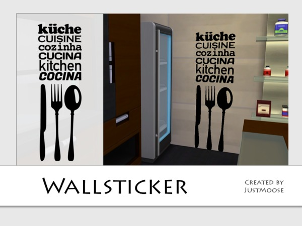 Kitchen Wallsticker by JustMoose