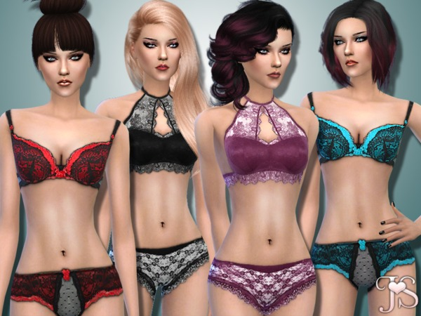 Emptyness Lingerie Set by JavaSims
