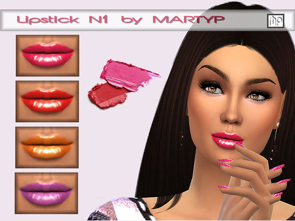 Lipstick N1 by MartyP
