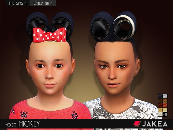 JAKEA - H003 - MICKEY (Child Hair)