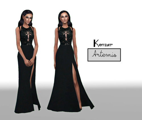 Artemis Dress by KenzarSims
