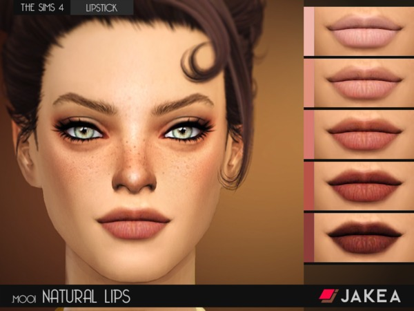 JAKEA - M001 - NATURAL LIPS