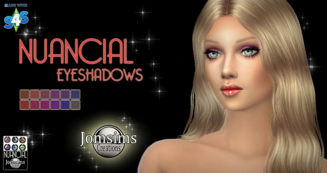 NUANCIAL eyeshadows by JomSims