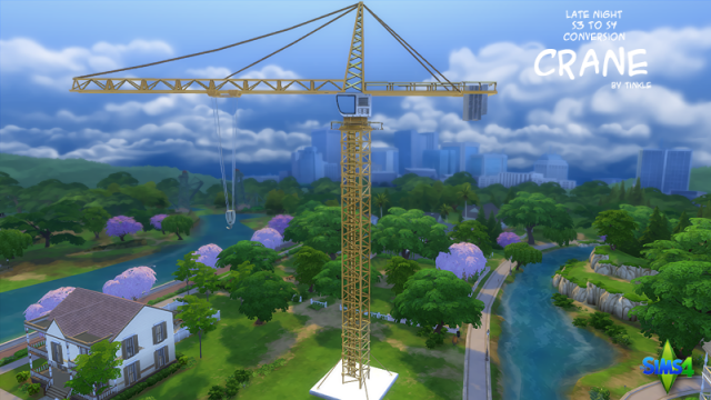 The Crane (Late Night S3 to S4 Conversion) by Tinkle
