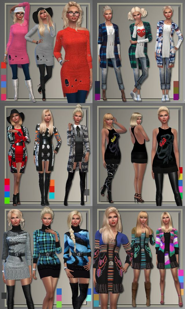Fall Sweater Outfits by Judie