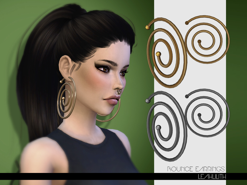 LeahLilith Bounce Earrings  BY Leah Lillith