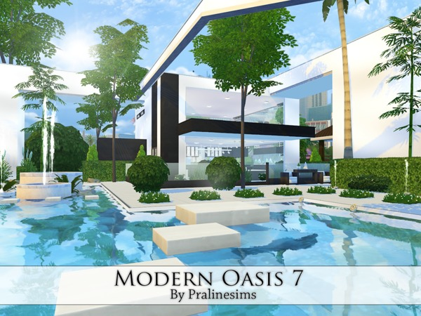 Modern Oasis 7 by Pralinesims