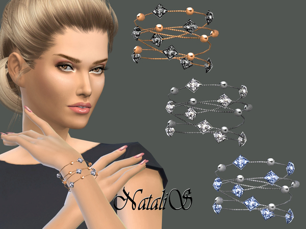 NataliS_Multi-row chain with beads and crystals