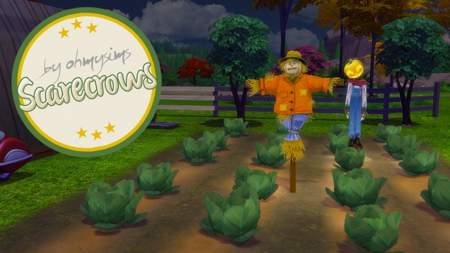 TS3 Scarecrow Conversions by OhMySims