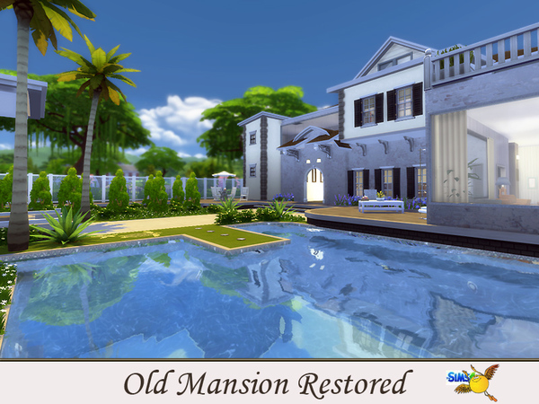 evi Old Mansion Restored