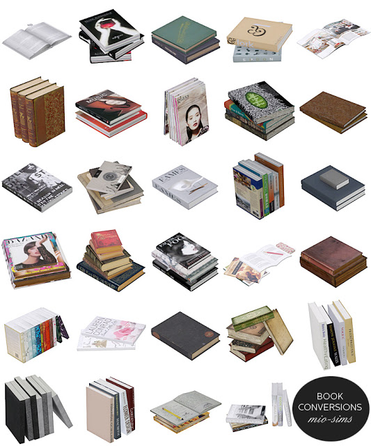 Book Conversions by MioSims