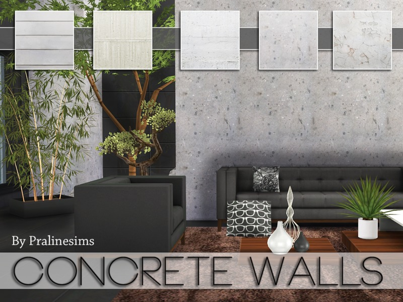 Concrete Walls(2)  BY Pralinesims