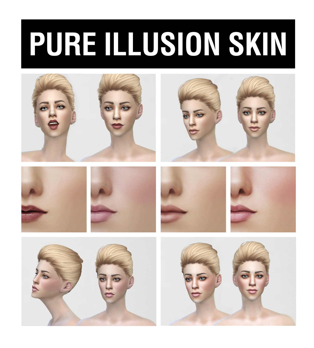 Pure Illusion Skin for Females by LiyahSim