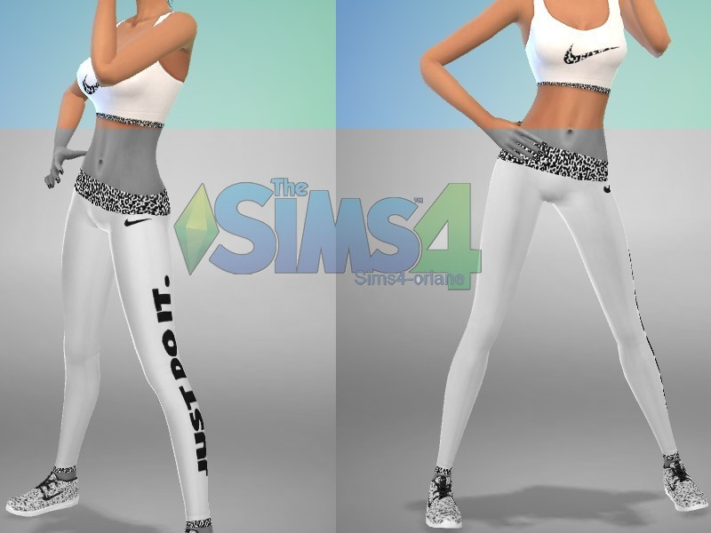 Jogging NIKE   BY Sims4-Orlane