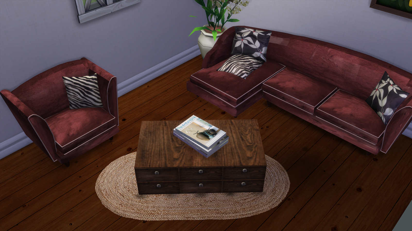IN PARIS SOFA AND ARMCHAIRS- CONVERSION   leo4sims
