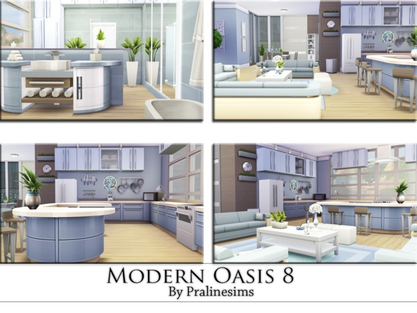 Modern Oasis 8 by Pralinesims