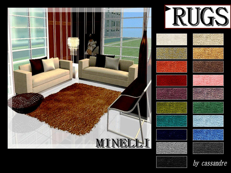 CASSANDRE MINELLI RUGS  By leo4sims