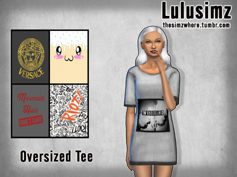 Random Oversized Tees- need mesh BY Lulusimz
