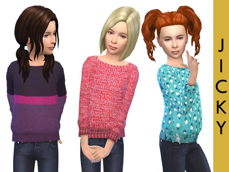Sweaters for Girls   BY Jicky