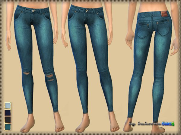 Pants Denim Jeggings by bukovka